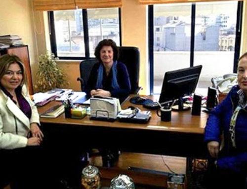 Συνάντηση της Γ.Γ.Ι.Φ. με την πρόεδρο και αντιπρόεδρο του Ο.ΓΕ.Ε. Αθήνας
